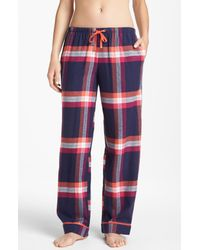 DKNY | Multicolor Mad For Plaid Flannel Pants | Lyst