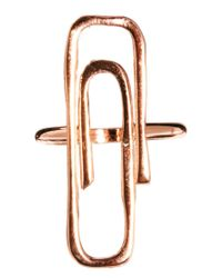 Gorjana Pink Raul P For Paperclip Ring