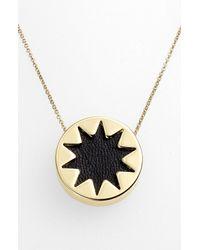 House of Harlow 1960 | Metallic 1960 Mini Sunburst Pendant Necklace | Lyst