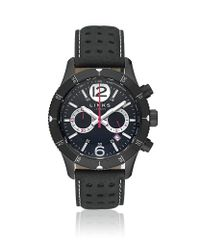 Links of London Black Chicane Chronograph Watch for men