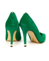 Ted Baker Green Neevo Pointed Court Shoe