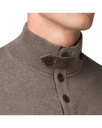 Tommy Hilfiger Brown Pima Cotton Cashmere Sweater for men