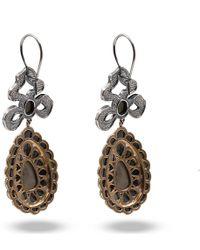 Vivienne Westwood | Gray Georgian Drop Earrings | Lyst