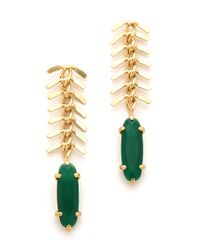 Wouters & Hendrix | White Fish Bone Earrings | Lyst