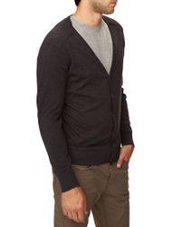 Forever 21 - Gray Shoulder Patch Cardigan for Men - Lyst
