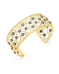 Alexis Bittar - Metallic Jeweled Mesh Bracelet - Lyst