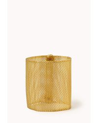 Forever 21 | Metallic Chainmail Cuff | Lyst