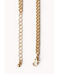 Forever 21 | Metallic Statement Bib Necklace You've Been Added To The Waitlist | Lyst