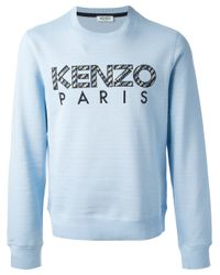 KENZO Blue 'icon' Sweater for men