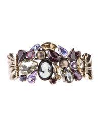 Marina Fossati | Metallic Jewel Embellished Ring | Lyst
