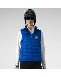RLX Ralph Lauren Blue Explorer Down Vest