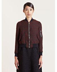 Yang Li - Black Womens Ma1 Jacket - Lyst