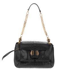 Chloé - Black Amelia Shoulder Bag - Lyst