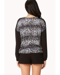 Forever 21 - White Contemporary Wild Thing Pullover - Lyst