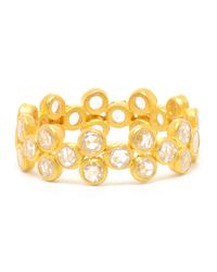 Marie-hélène De Taillac - Metallic Bollywood Diamond and 22k Gold Ring - Lyst
