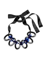Marni - Black Resin Necklace - Lyst
