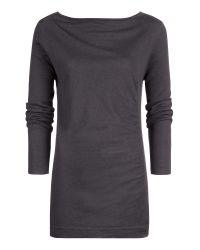 Sandwich Gray Wool Mix Jumper