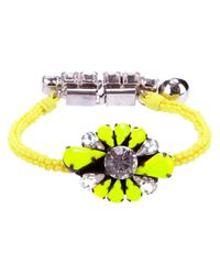 Shourouk | Yellow Bracelet | Lyst