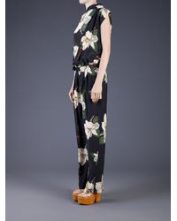 Vivienne Westwood Anglomania Multicolor Gaia Jumpsuit