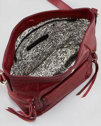 Rebecca Minkoff   Red Dexter Leather Bucket Bag Port   Lyst