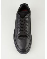 Dolce & Gabbana Black Laceup Trainer for men