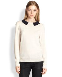 Marc By Marc Jacobs Natural Dorothy Stretch-wool Sweater