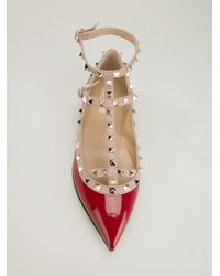 Valentino Red Studded Shoe