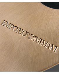 Emporio Armani - Green Brooch - Lyst