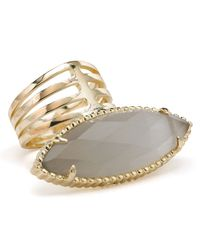 Kendra Scott - Gray Chelsea Ring - Lyst