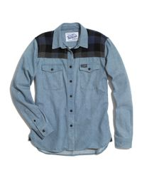Madewell Blue Penfield® Wayland Denim Trail Shirt