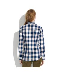 Madewell Blue Penfield&Reg; Stokes Checked Flannel Shirt