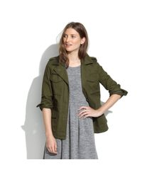 Madewell Green Allweather Outbound Jacket