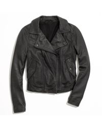 Madewell Black Perfect Leather Motorcycle Jacket