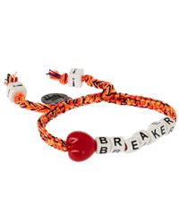 Venessa Arizaga - Orange Heart Breaker Bracelet - Lyst