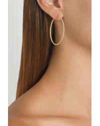 Carolina Bucci Metallic 18karat Gold Hoop Earrings