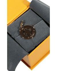 Fendi | Metallic Jewel Charming Letter O | Lyst