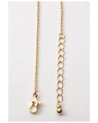 Forever 21 - Metallic Lightning Bolt Long Necklace - Lyst