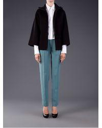 MM6 by Maison Martin Margiela Black Kimono Sleeve Jacket