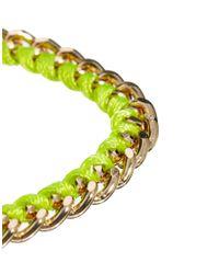 ASOS - Yellow Asos Tassel Friendship Bracelet - Lyst