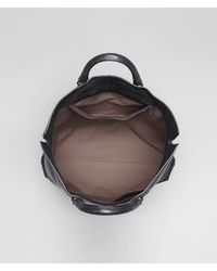 Bottega Veneta - Black Buffalo Leather Metal Tote for Men - Lyst