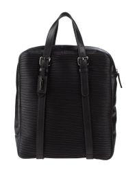 Giorgio Armani - Black Backpack Fanny Pack - Lyst