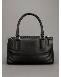 Givenchy Black Pandora Medium Woven Bag