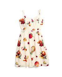 Madewell Multicolor Fresh Fruit Dress