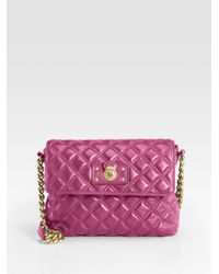 Marc Jacobs - Pink Quilting The Large Single Leather Bag - Lyst