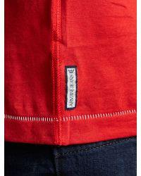 Armani Jeans Red Logo Tshirt for men