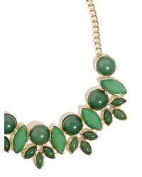 BaubleBar - Green Bell-flower Collar - Lyst