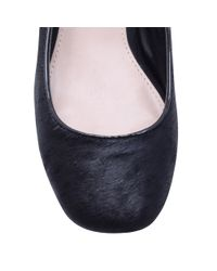 Carvela Kurt Geiger Black Arabella Block Heel Court Shoes