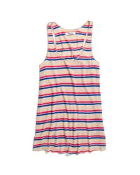 Madewell Multicolor Striped Perfect Racerback Tank