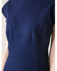 Pinko Blue Shift Dress