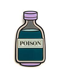 Yazbukey | Green Poison Brooch | Lyst